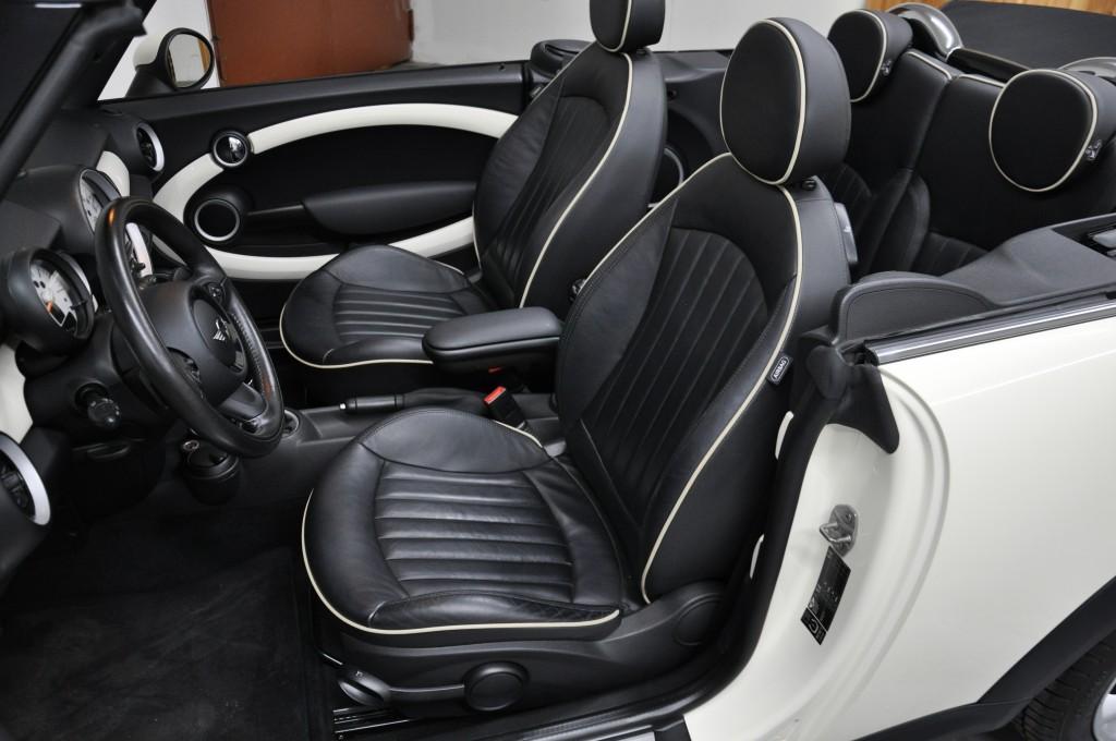 Mini Cooper S Cabrio Automatik Bi Xenon Leder Freispr
